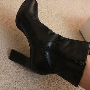 Nine West Black High Heel Boots